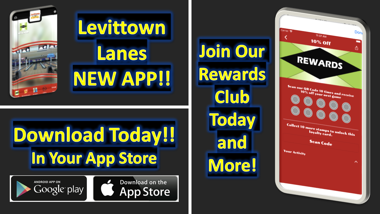 Levittown Lanes App Slide